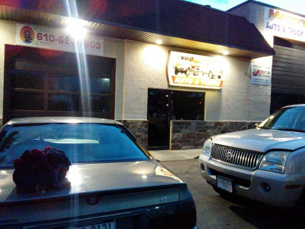 Marty's Auto Repair: 300 S Oak Ave, Primos, PA