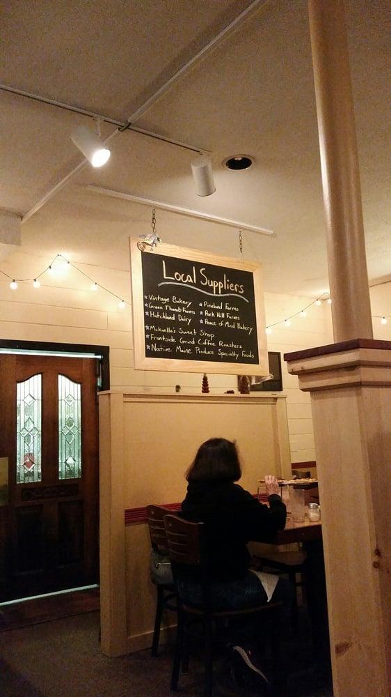 Mountainside Cafe Menu