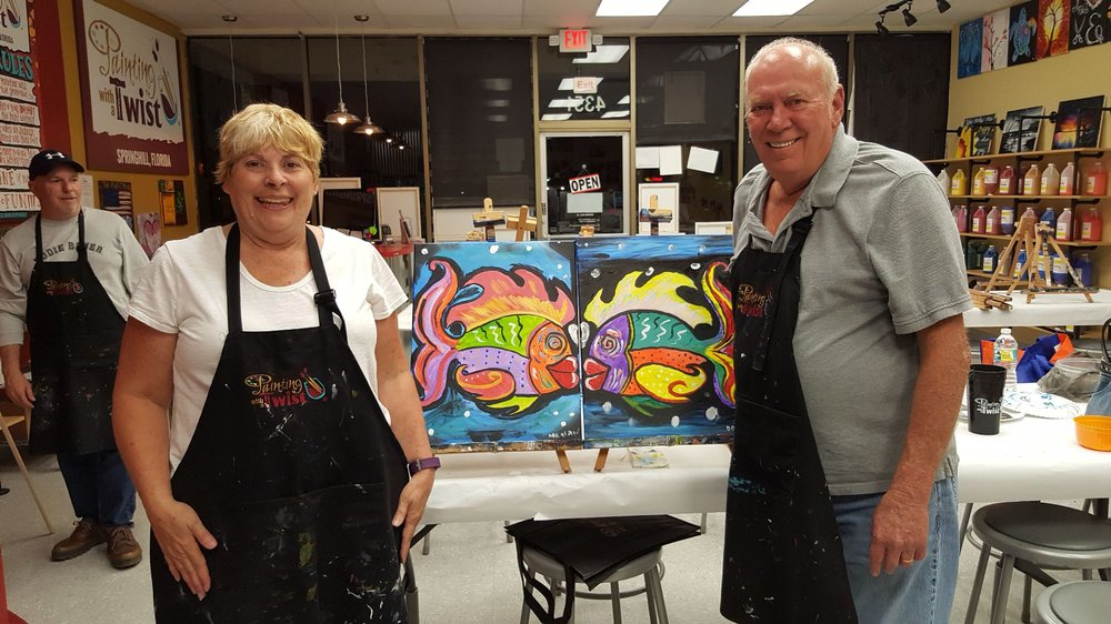 Painting with a Twist: 4351 Commercial Way, Spring Hill, FL