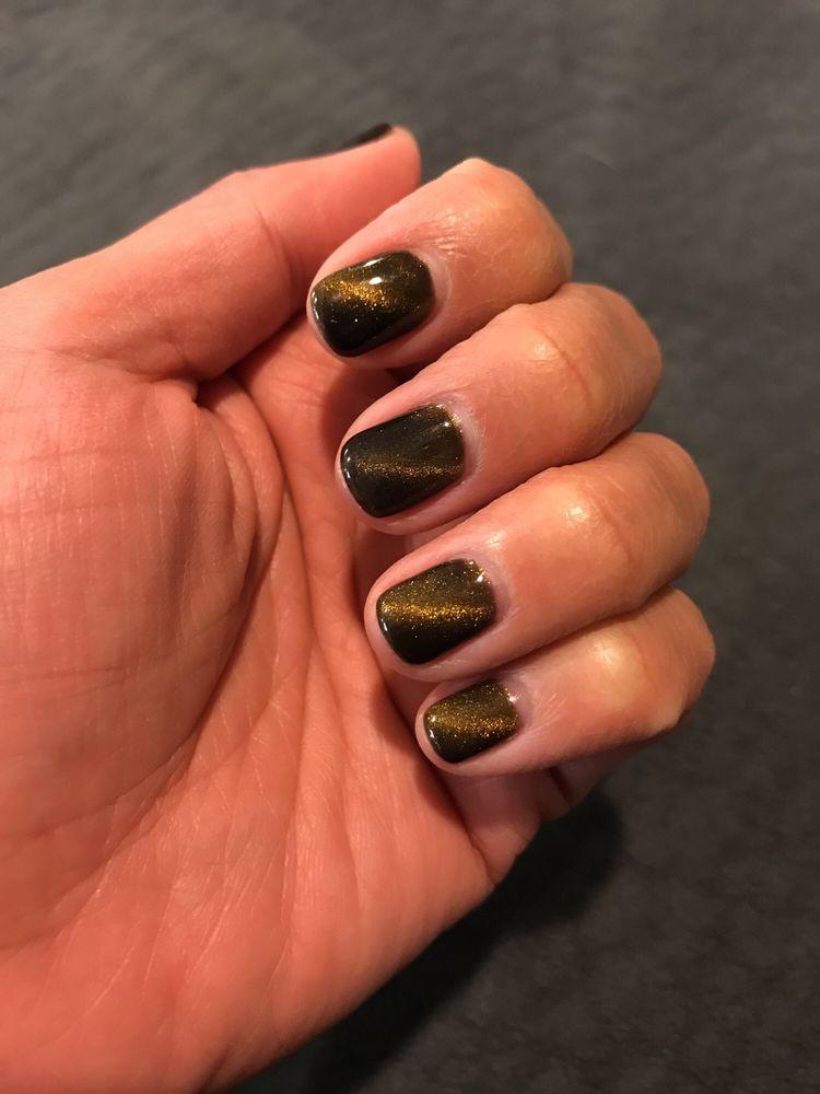 No chip manicure. \