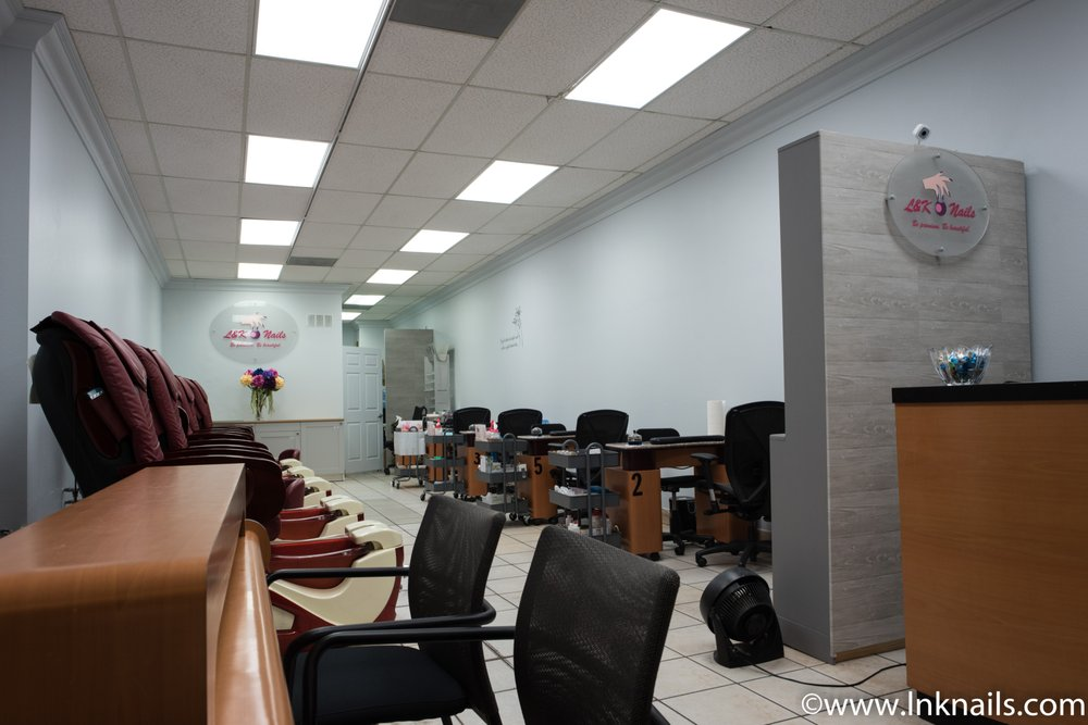 L&K Nail Spa: 1025 W Arrow Hwy, San Dimas, CA