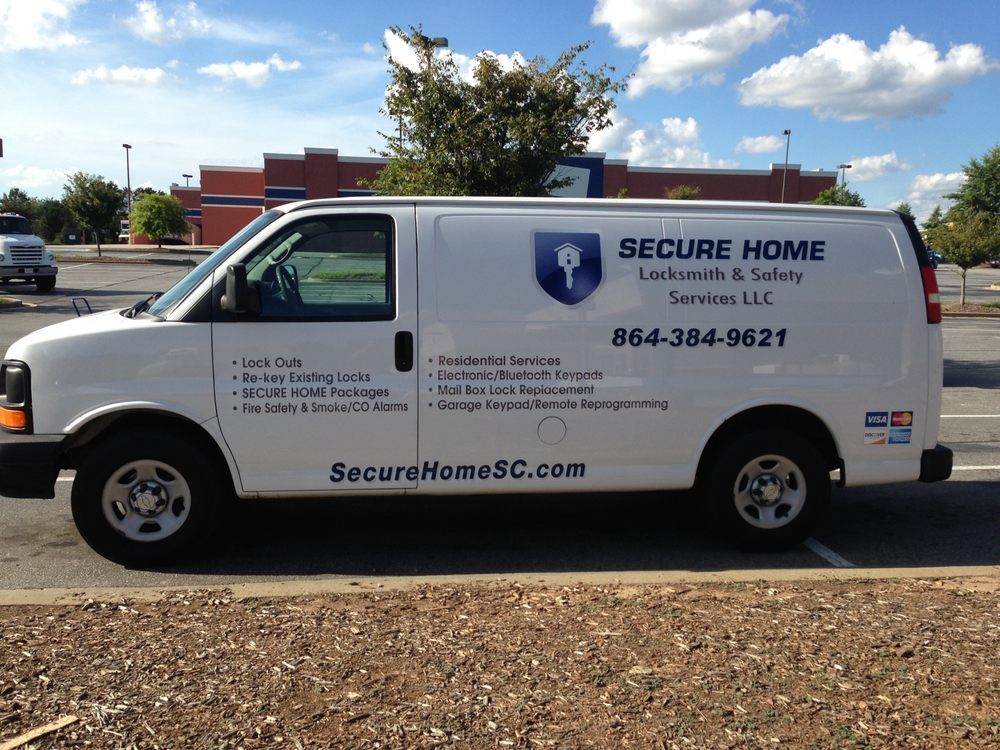 Secure Home Locksmith & Safety Services: 3620 Pelham Rd, Greenville, SC