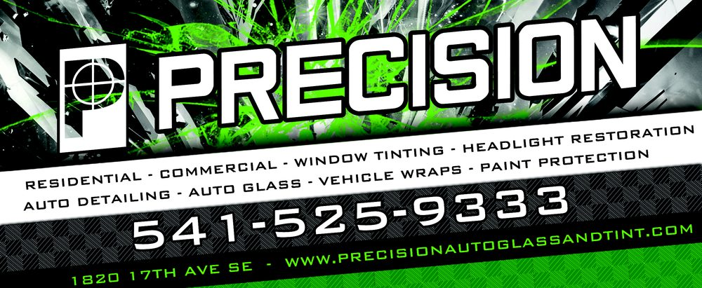 Precision Auto Glass & Tint: 1820 17th Ave SE, Albany, OR