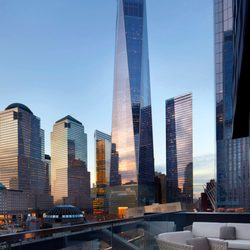 Photo Of Courtyard New York Downtown Manhattan World Trade Center Area