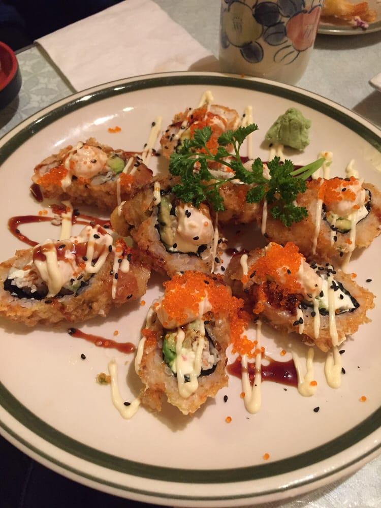 Akasaka Japanese Restaurant Surrey Menu