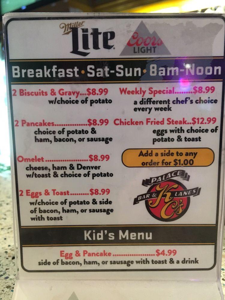 KCs Palace Bar & Lanes: 305 E Main St, Laurel, MT