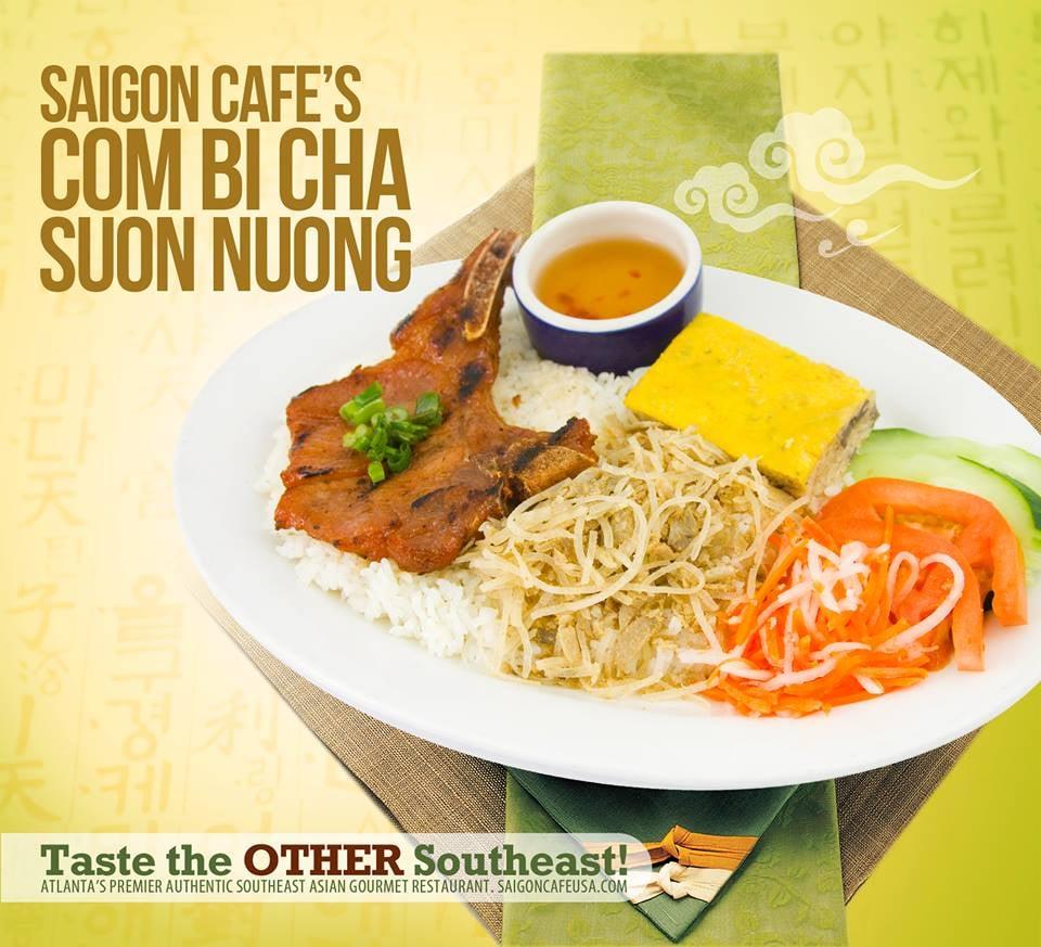 Saigon Cafe Menu Alpharetta