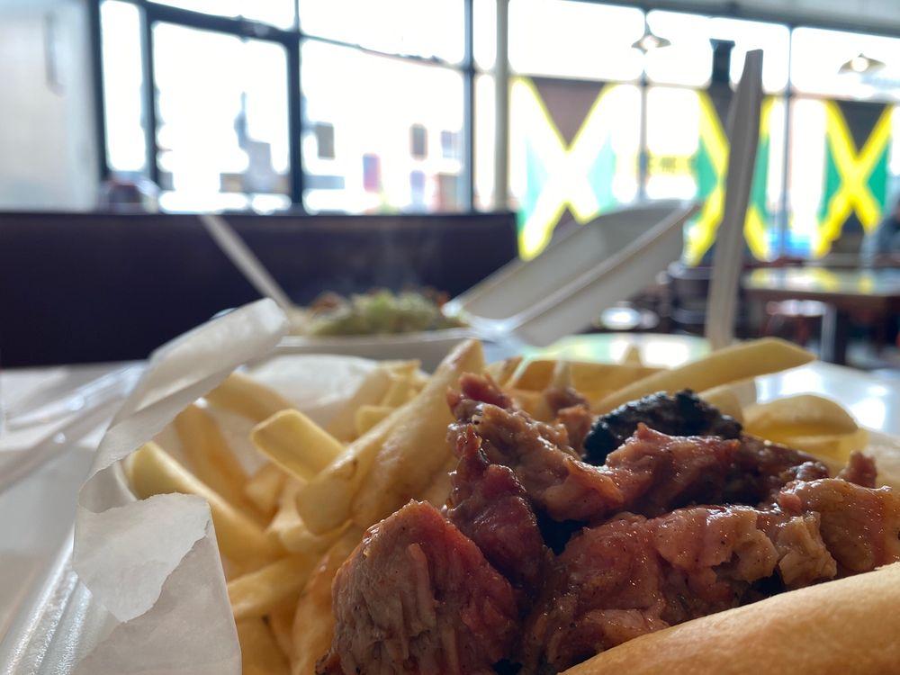Auntie Rita's Jamaican Cuisine: 145 S Santa Fe Ave, Salina, KS