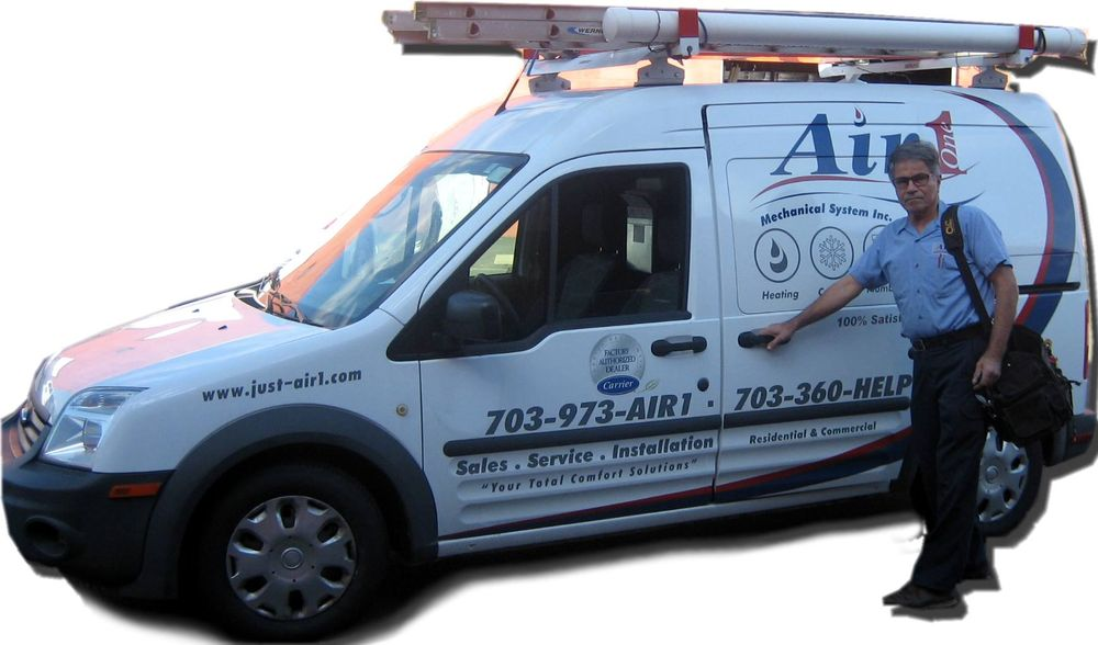 Air 1 Mechanical Heating, Cooling & Plumbing: 45710 Oakbrook Ct, Sterling, VA
