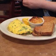 Fresh Squeezed Oj Photo Of Country Kitchen Brewster Ny United States Veggie Omelette With Onions