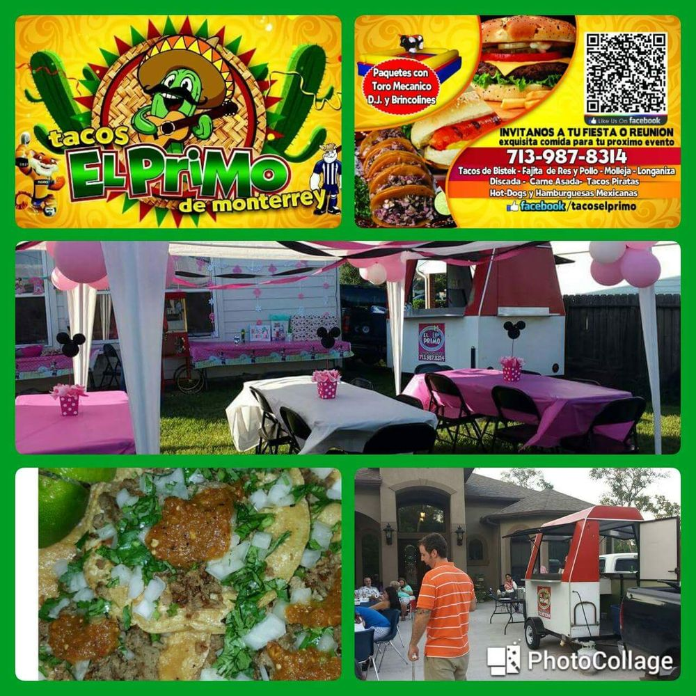 Tacos El Primo Para Eventos: Houston, TX