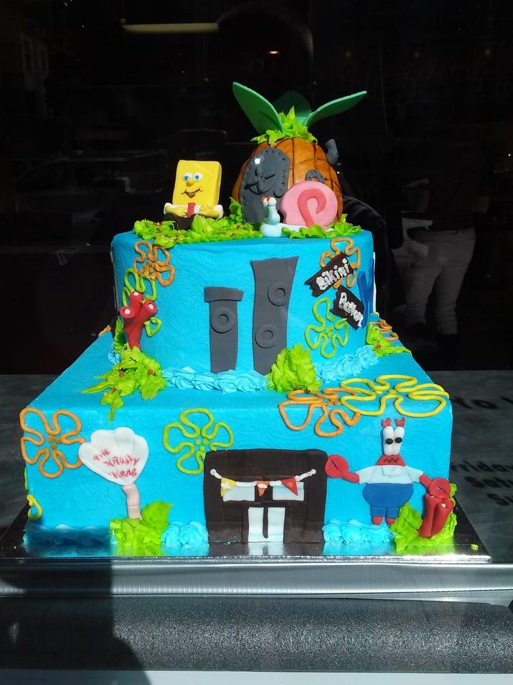 Bikini Bottom Birthday Cake Yelp