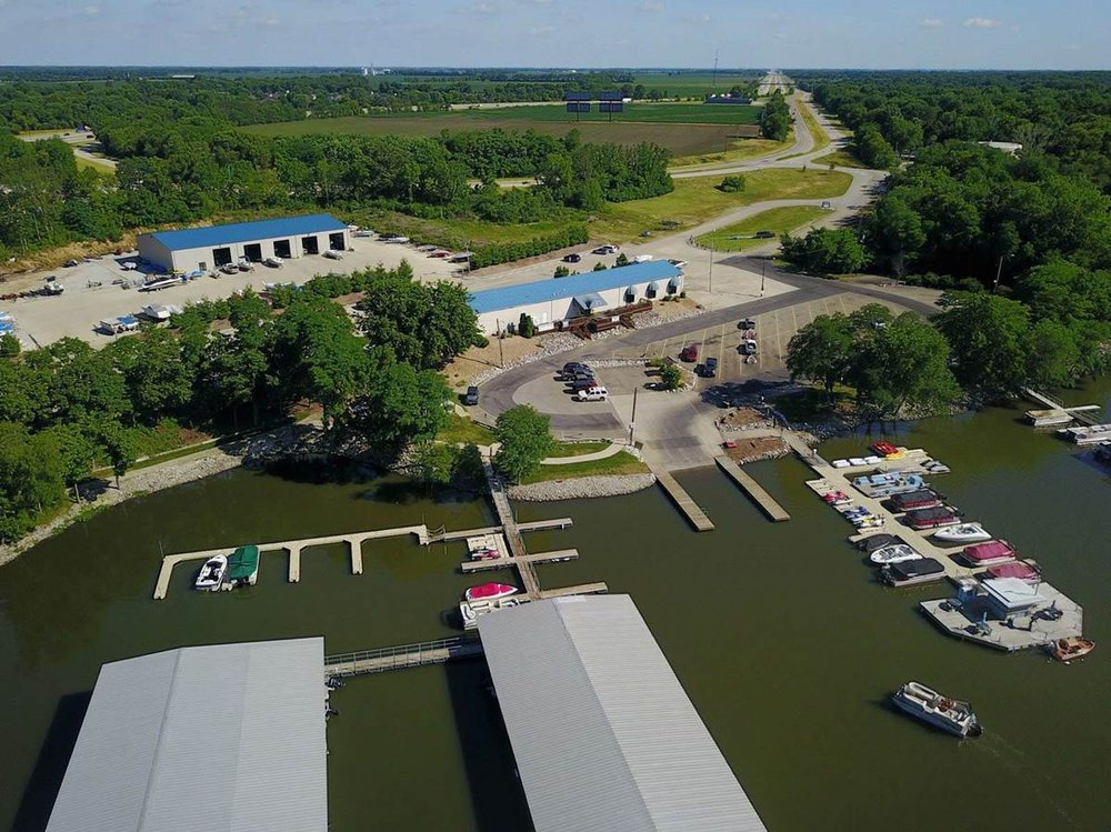 Lake Springfield Marina: 17 Waters Edge Blvd, Springfield, IL