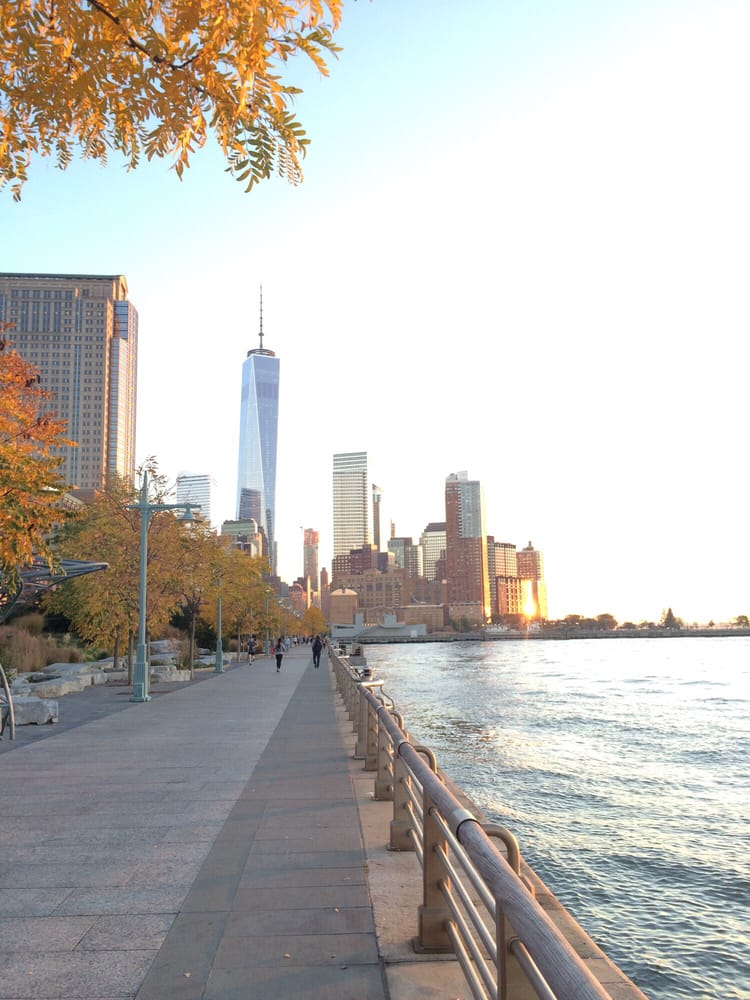 Photo of Hudson River Park - New York, NY, United States. View from Hudson River park