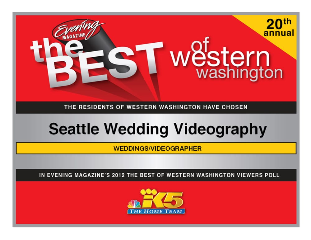 Seattle Wedding Videography