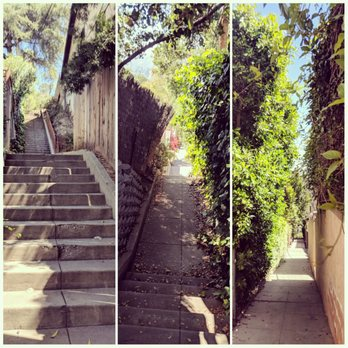 Photo Of Secret Stairs   Pasadena, CA, United States. Nice Walk! Grateful