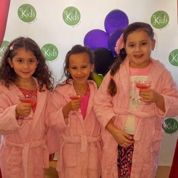 Just  Kids Salon Birthday Party Boutique