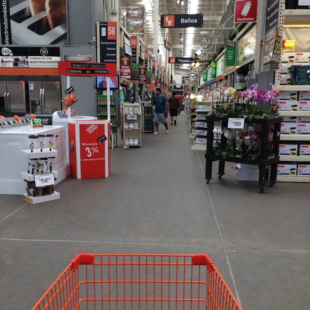 The home depot 13 reviews hardware stores av manuel for Shop home depot