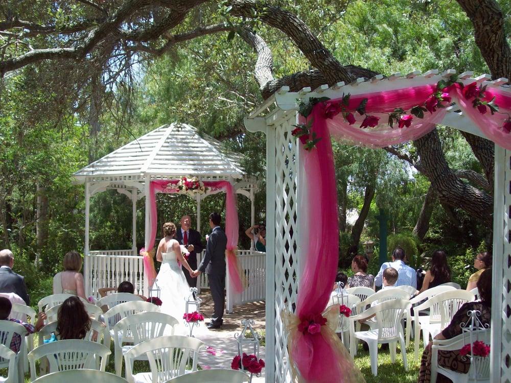 Outdoor Garden Wedding Ceremony Yelp