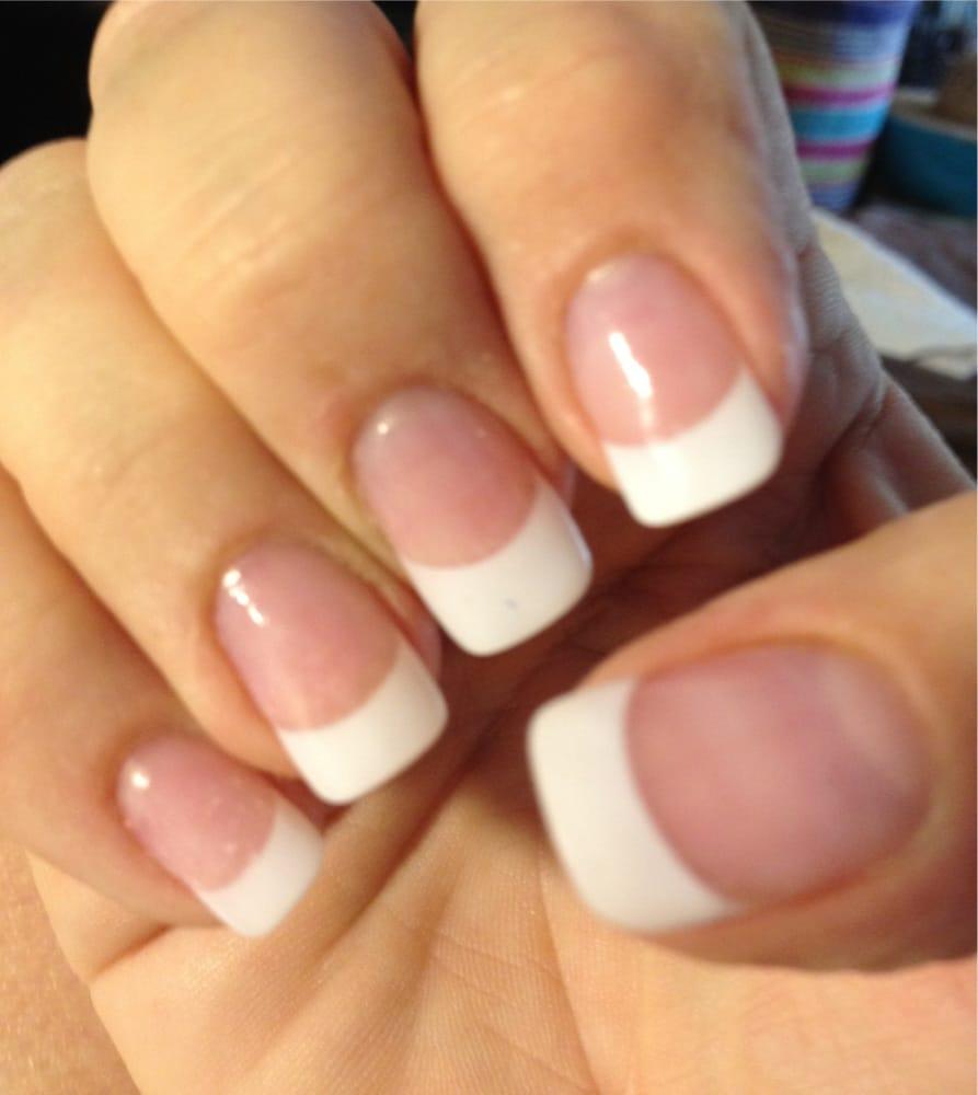 Modern Nails Owner, Lynn - does great silk wrap w French mani ...