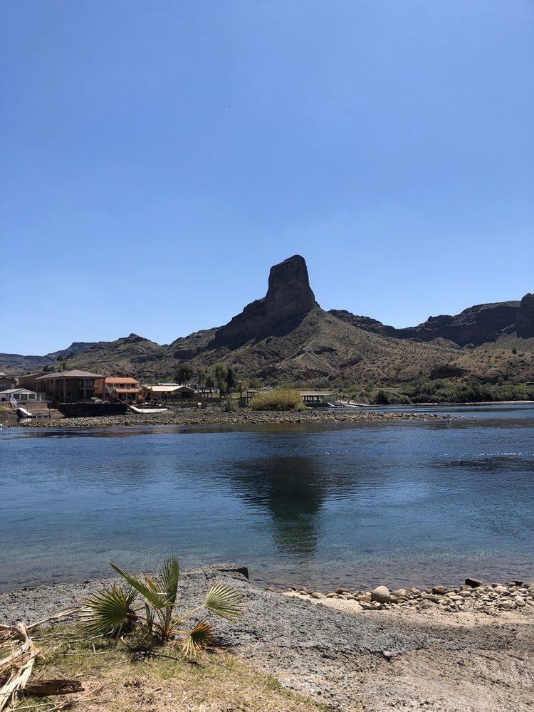 River Lodge Resort: 675 Parker Dam Rd, Parker Dam, CA