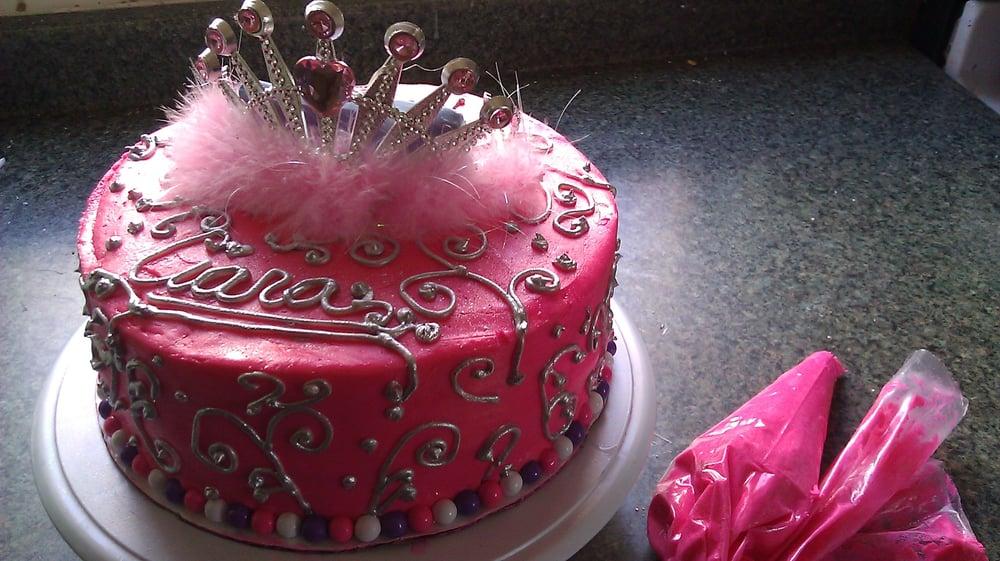 Birthday Cake Made For 7 Year Ciara Yelp