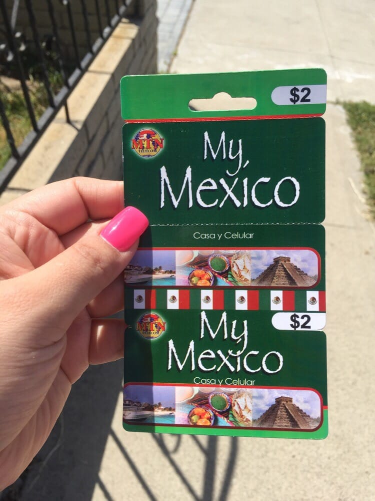 photo of bobs market buena park ca united states 2 calling card - Mexico Calling Card