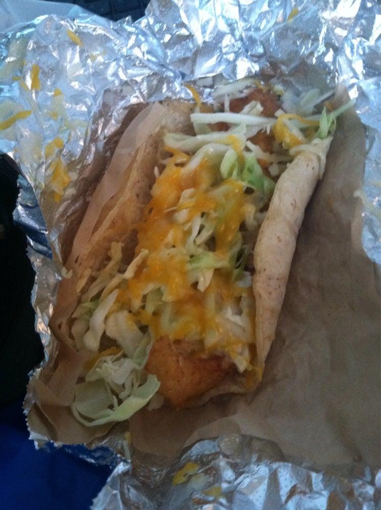 Crispy cod taco yelp for Malibu fish grill