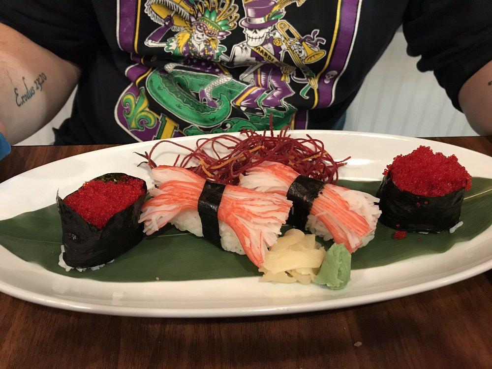 Food from Kazoku Hibachi And Sushi Bar