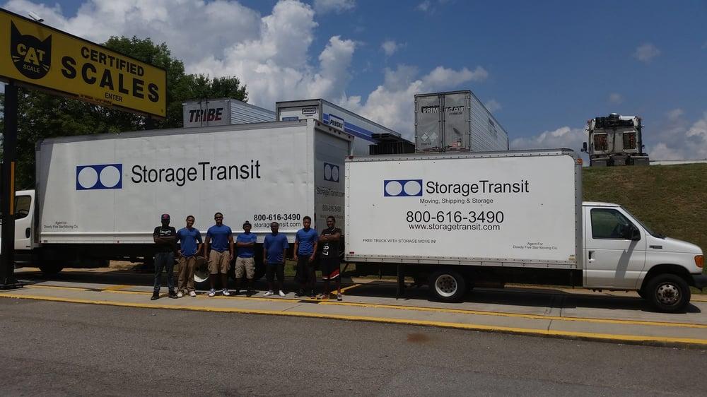 Storage Transit: 607 Ronald Reagan Dr, Evans, GA