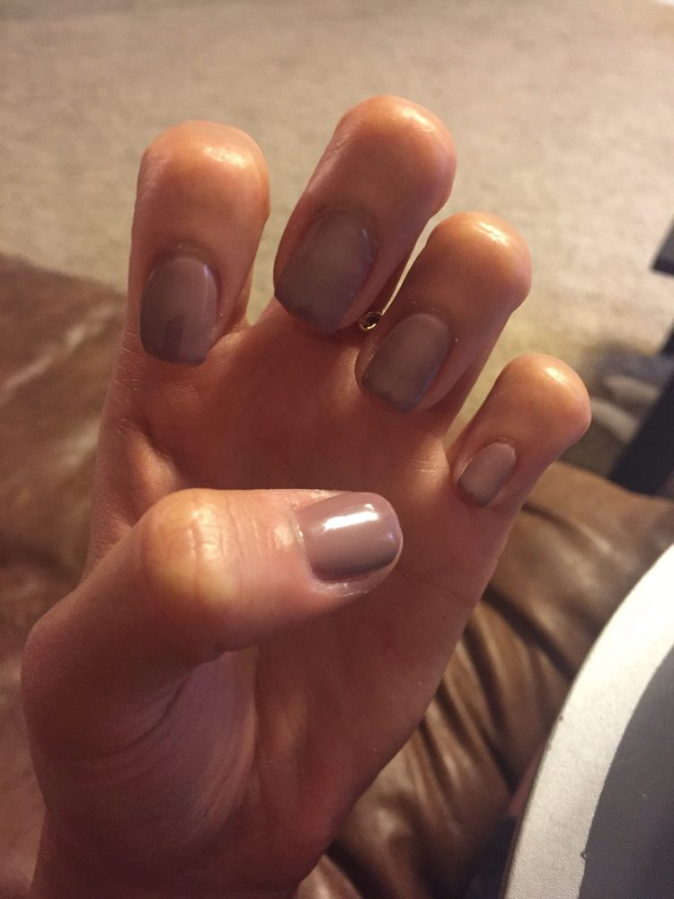 Non-chip manicure in the color butternut squash - Yelp