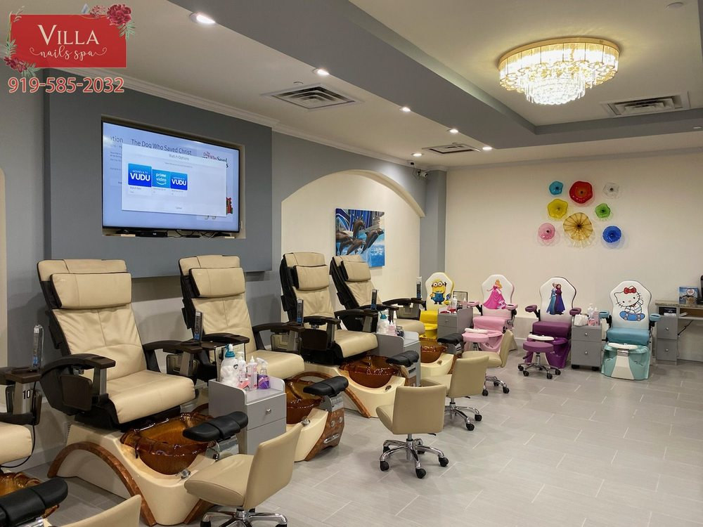 Villa Nails Spa: 315 Athletic Club Blvd, Clayton, NC