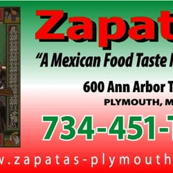 Zapatas Mexican Restaurant Closed 18 Reviews Mexican 600