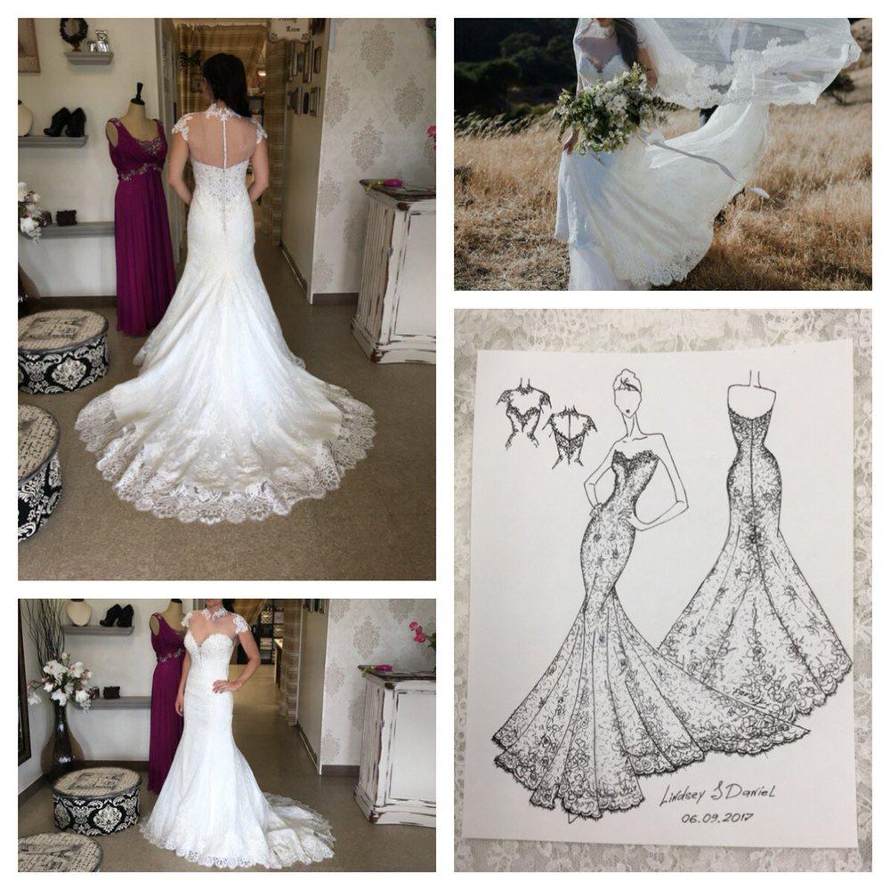 Custom Redesign Wedding Dress Alterations Yelp