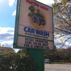Turtle Wax Car Wash Auto Appearance Center Closed Car Wash