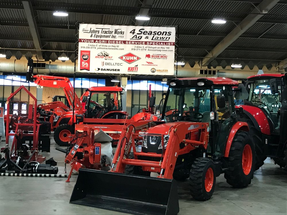 John's Tractor Works & Equipment: 444934 E Highway 60, Vinita, OK