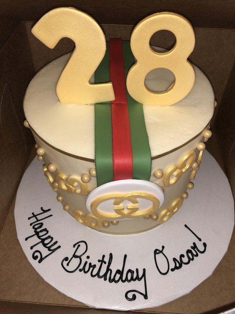 Rachel Created Such A Beautiful Custom Made Gucci Cake For My Fianc
