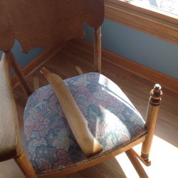 Photo Of Furniture Doctor   Winchester, VA, United States. Arm Off Antique  Rocker