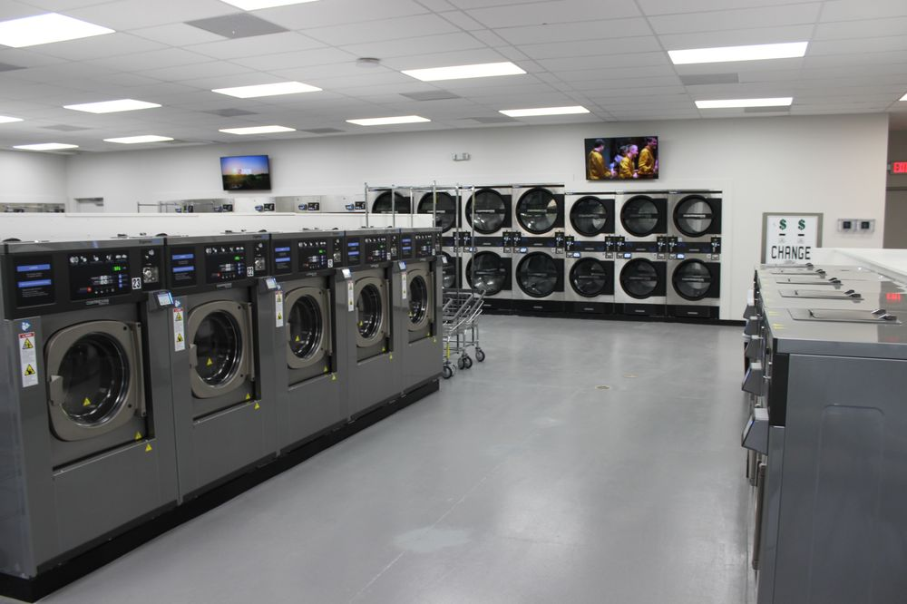 Monroe Express Laundry Center: 1806 W Roosevelt Blvd, Monroe, NC