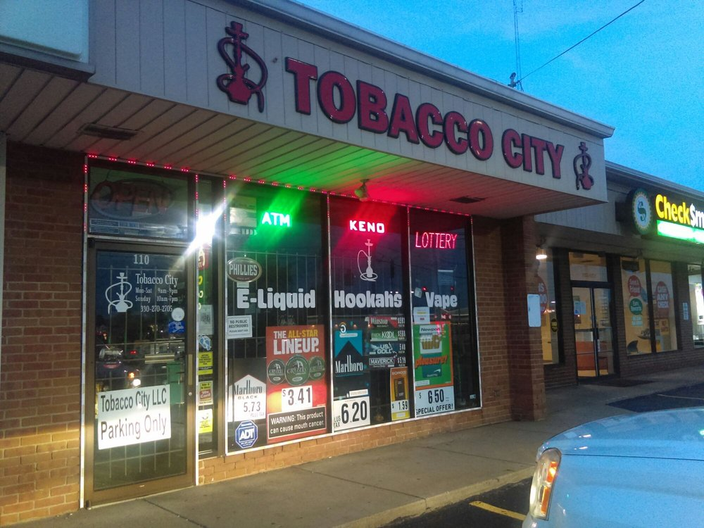 Tobacco City: 110 Boardman Poland Rd, Boardman, OH