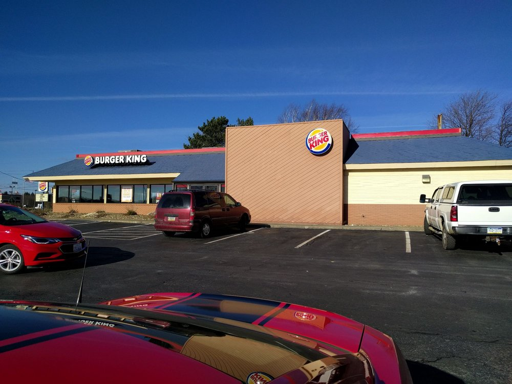 Burger King: 5753 State Rt 8, Harrisville, PA