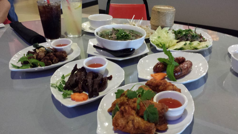 Sample of everything yelp for Ano thai lao cuisine