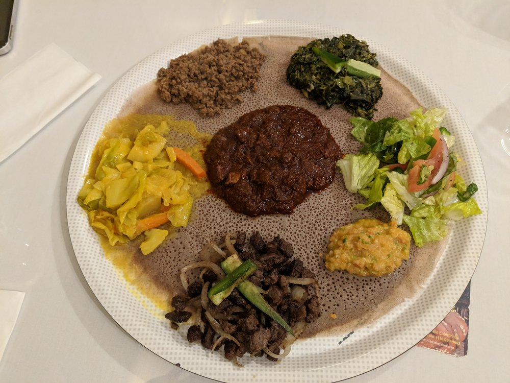 Zagol Ethiopian Restaurant: 2722 E Cherry St, Seattle, WA