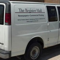 The Galesburg Register-Mail - Print Media - 140 S Prairie St