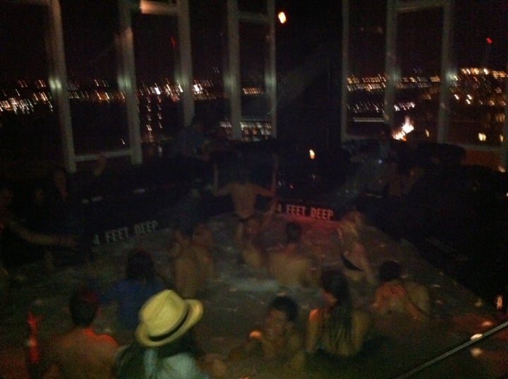 the infamous hot tub - Yelp