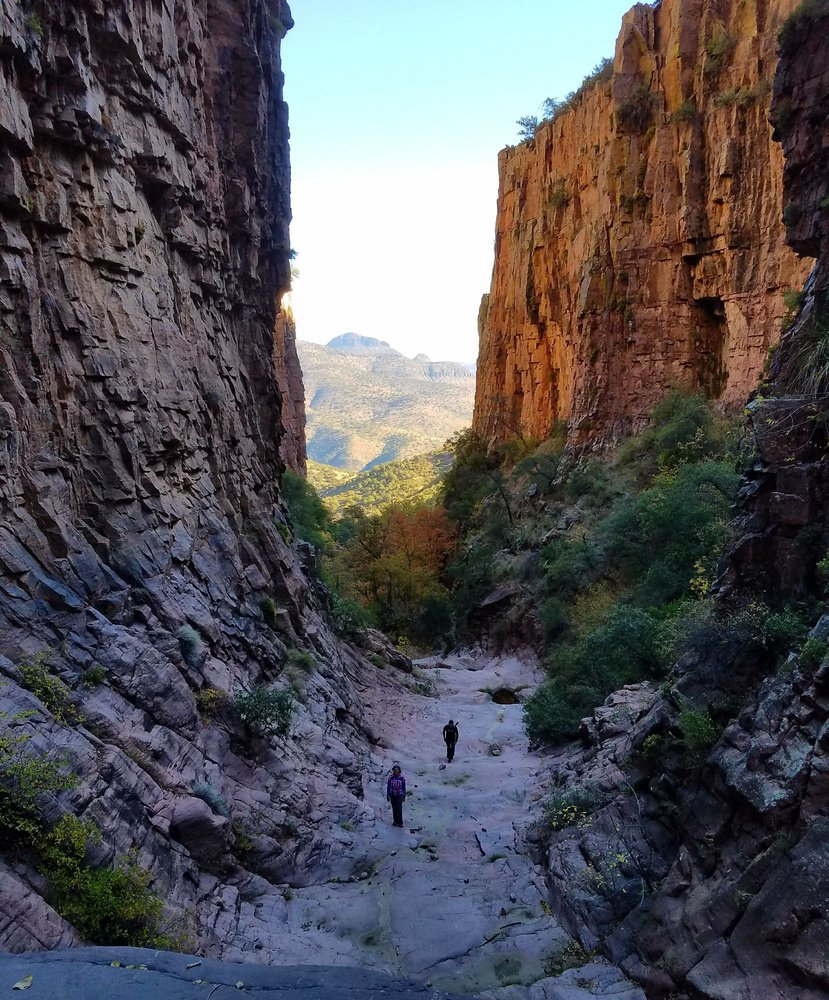 Devils Chasm: Tonto National Forest, Phoenix, AZ