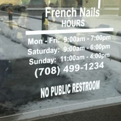 French nail salon evergreen park il