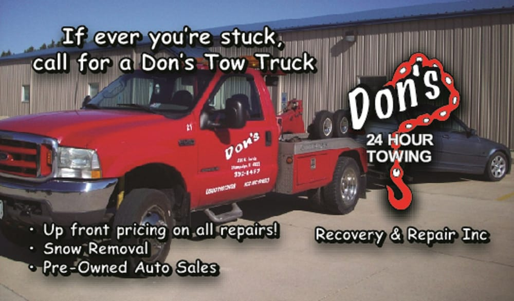 Don's 24-Hour Towing Recovery and Repair - Auto Repair - 1307 N Harris Ave, Champaign, IL - Phone Number - Yelp
