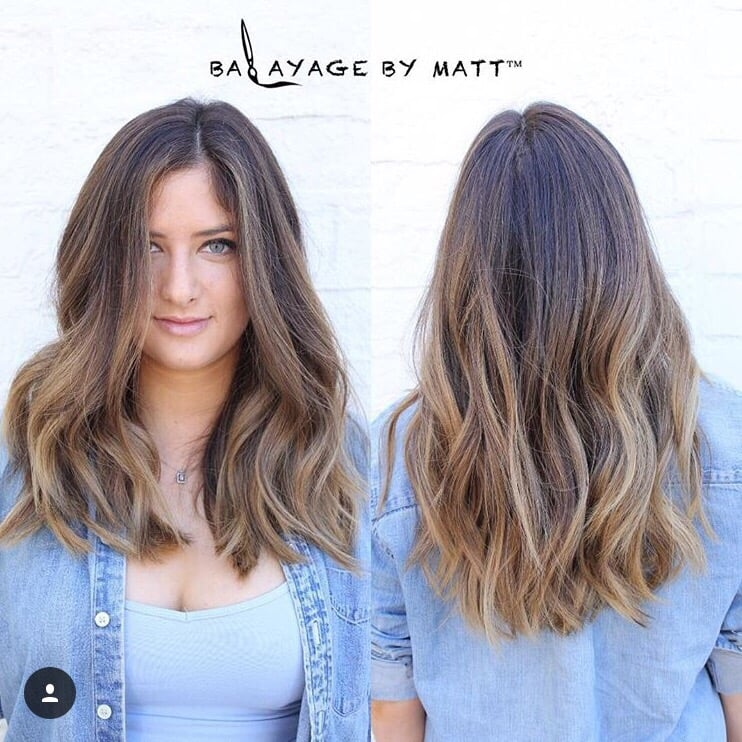 my natural dark brown to ashy blonde balayage i had this. Black Bedroom Furniture Sets. Home Design Ideas