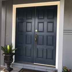 Photo of Unique Painting Services - Novato CA United States. Front door painting : door painters - pezcame.com